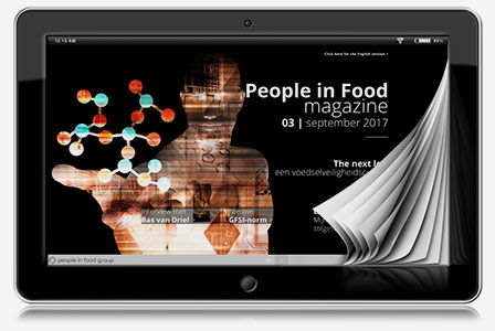 People in food magazine 03 ENG | New GFSI-standard
